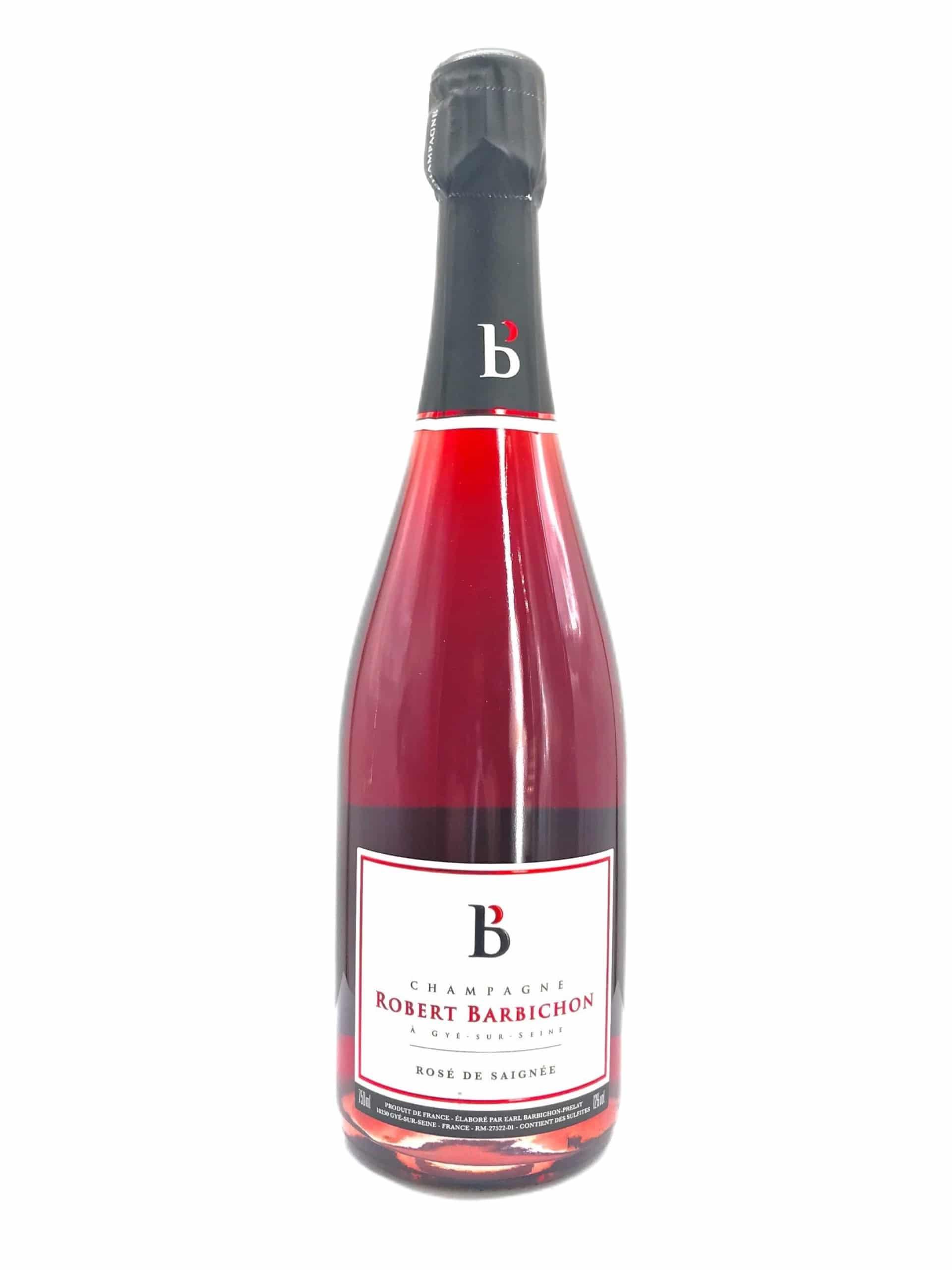 Champagne Robert Barbichon Rosé de Saignee