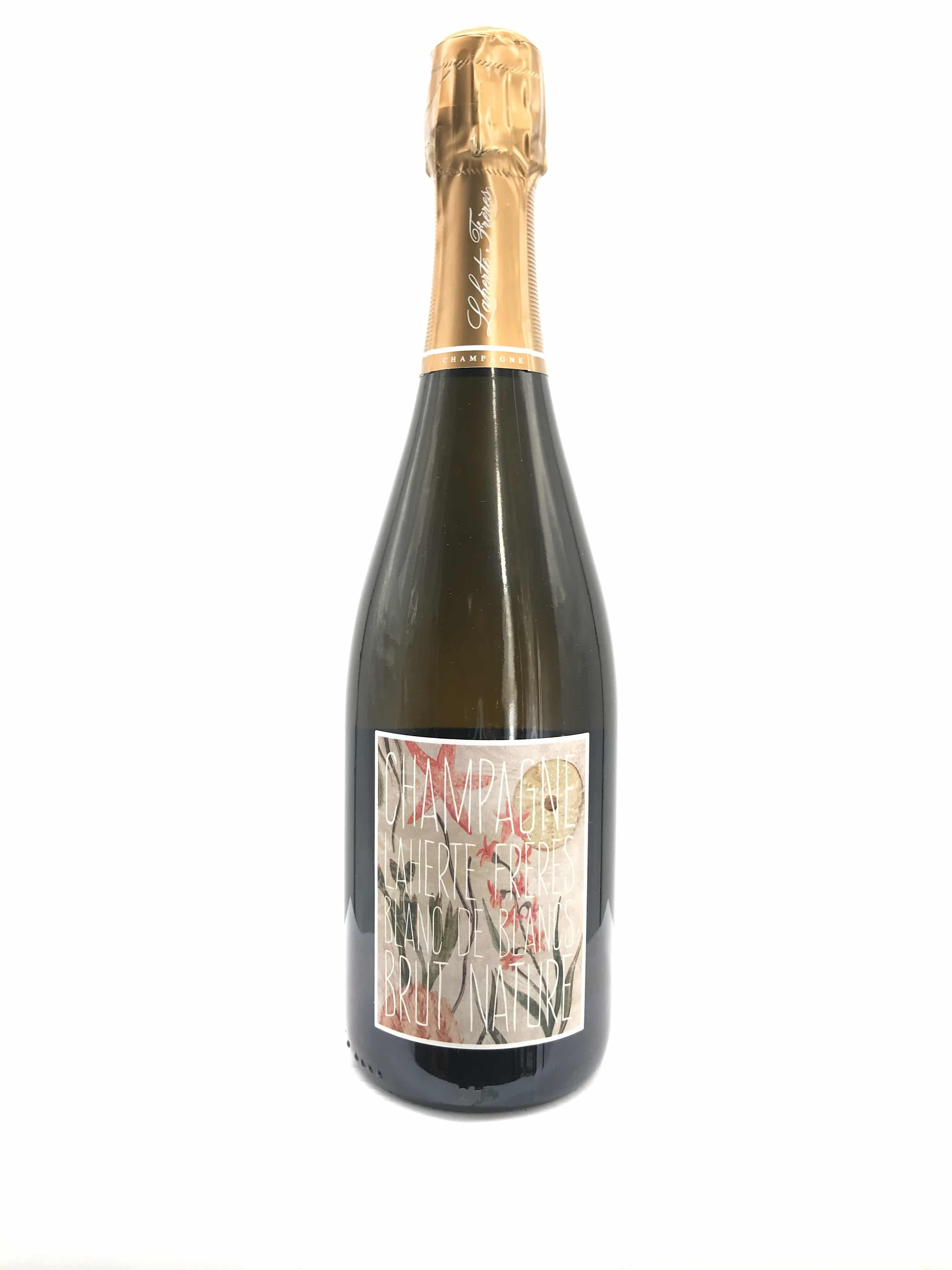 Champagne Laherte Freres Blanc de Blancs Brut Nature