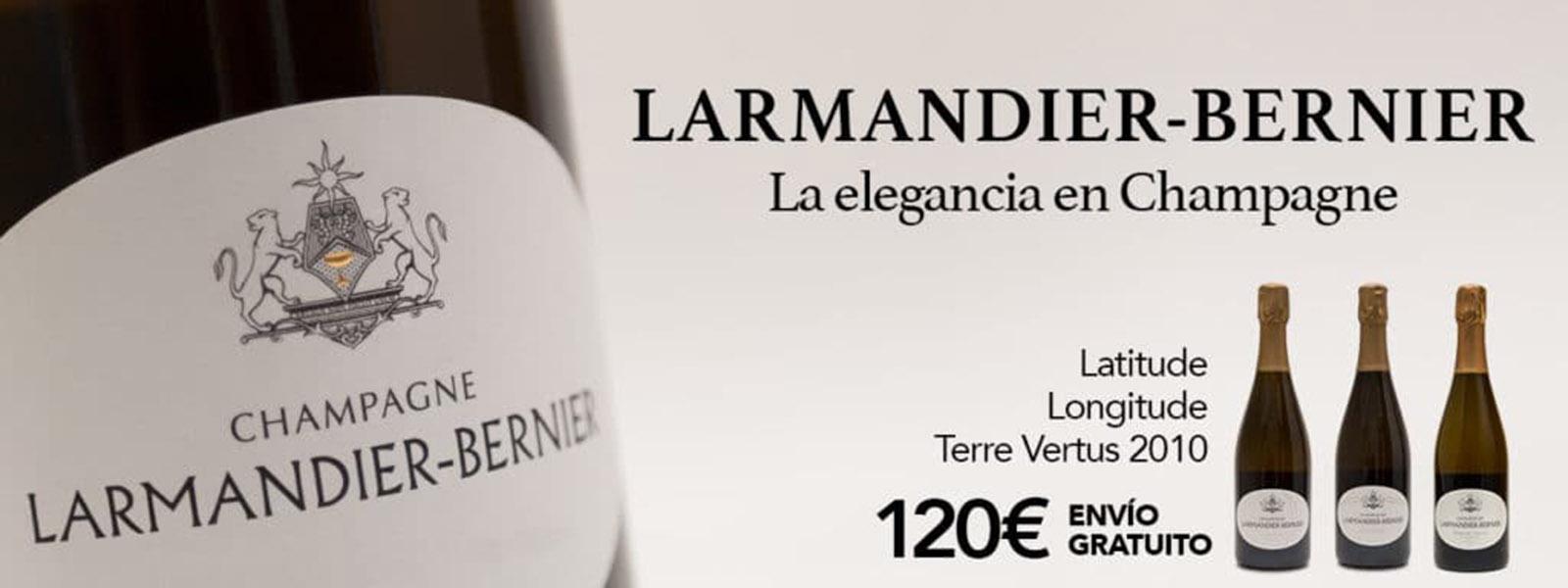 Selección Champagne Blanc de Blancs Larmandier Bernier