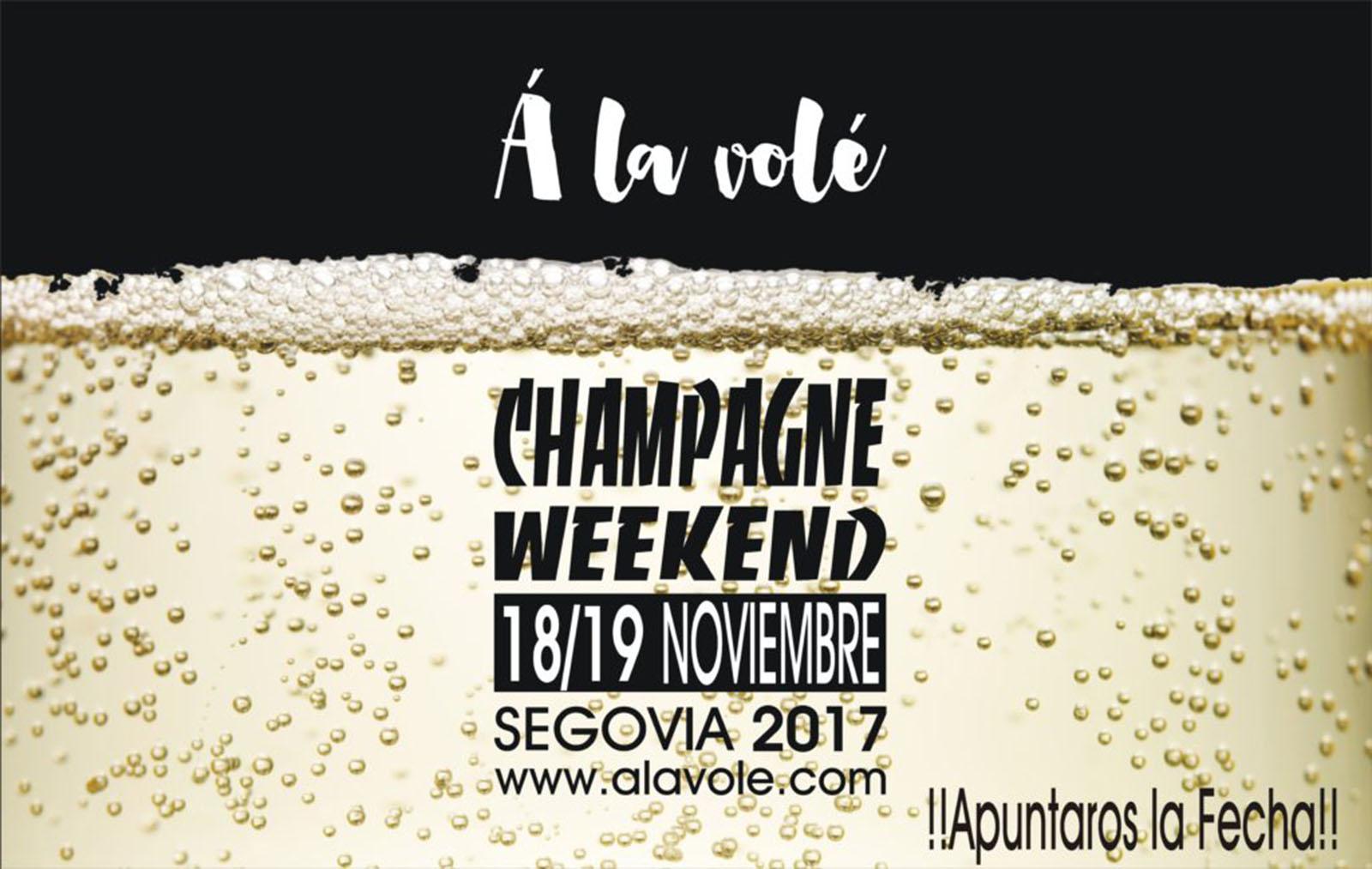 Champagne Weekend 2017 ¡¡Fecha de Celebración y Primer Ponente!!