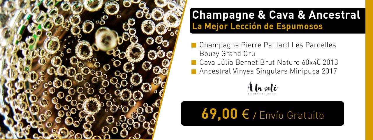 Champagne & Cava & Ancestral