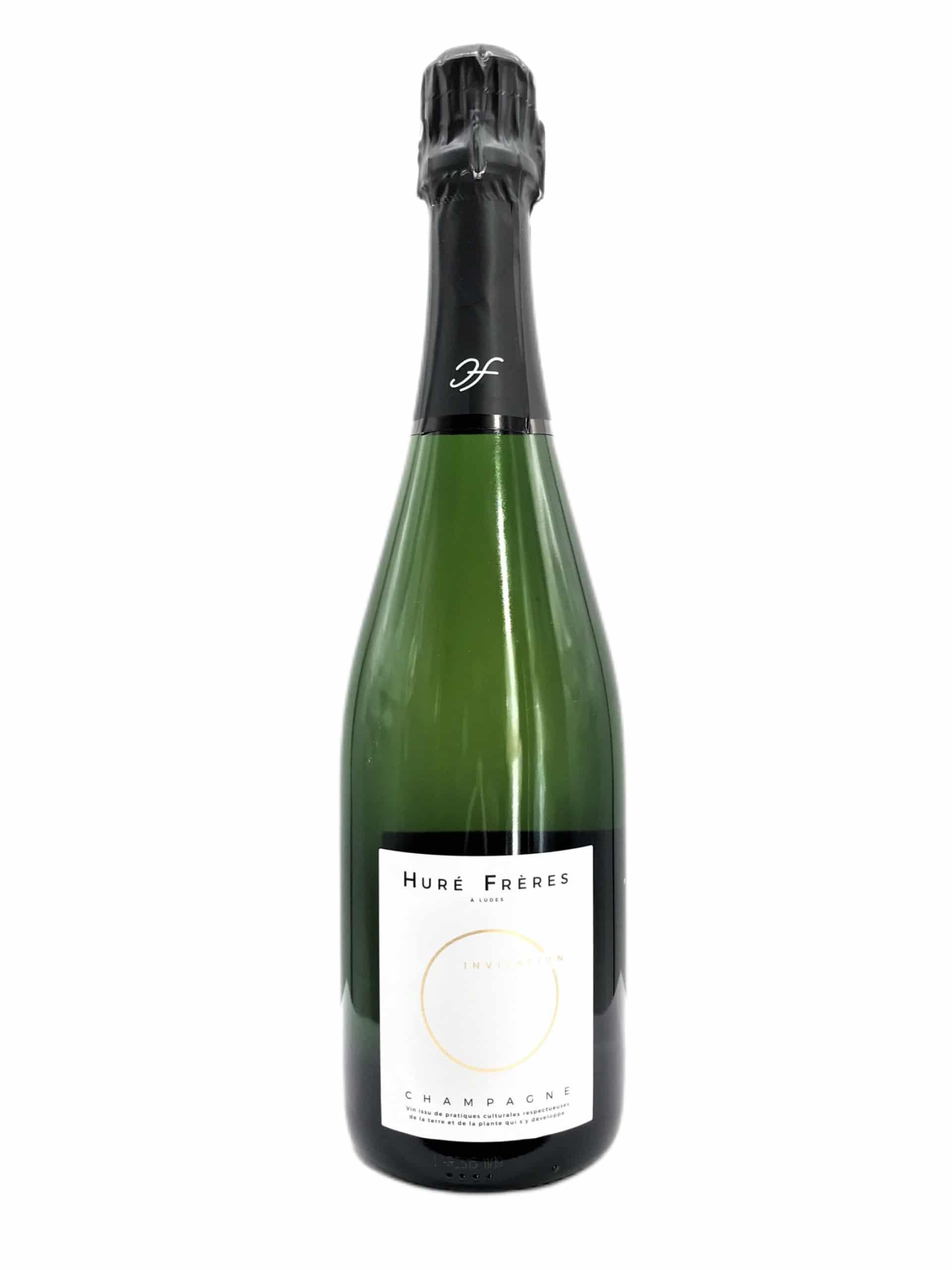 Champagne Hure Freres Invitation Magnum