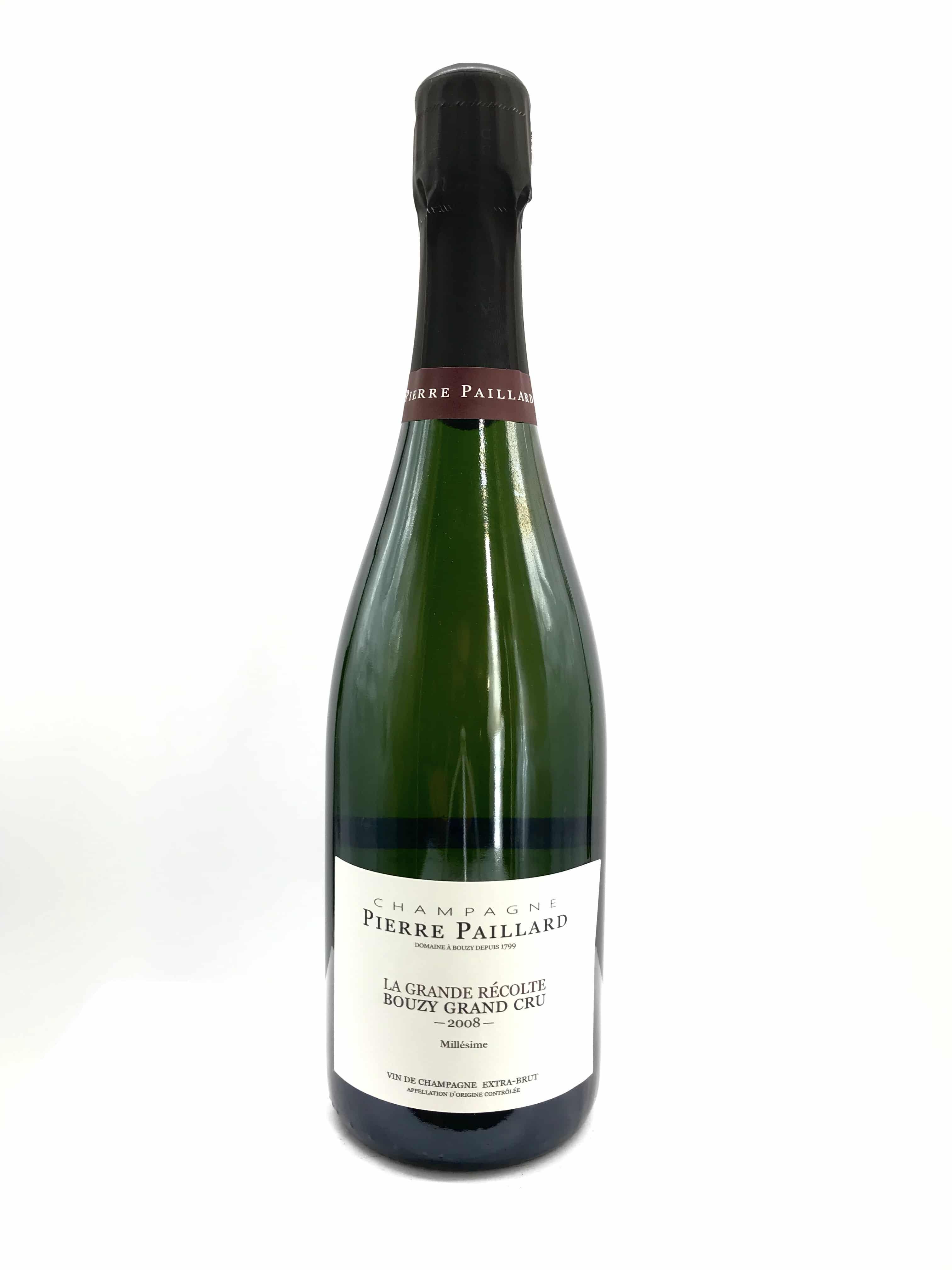 Champagne Pierre Paillard La Grande Recolte Bouzy Grand Cru