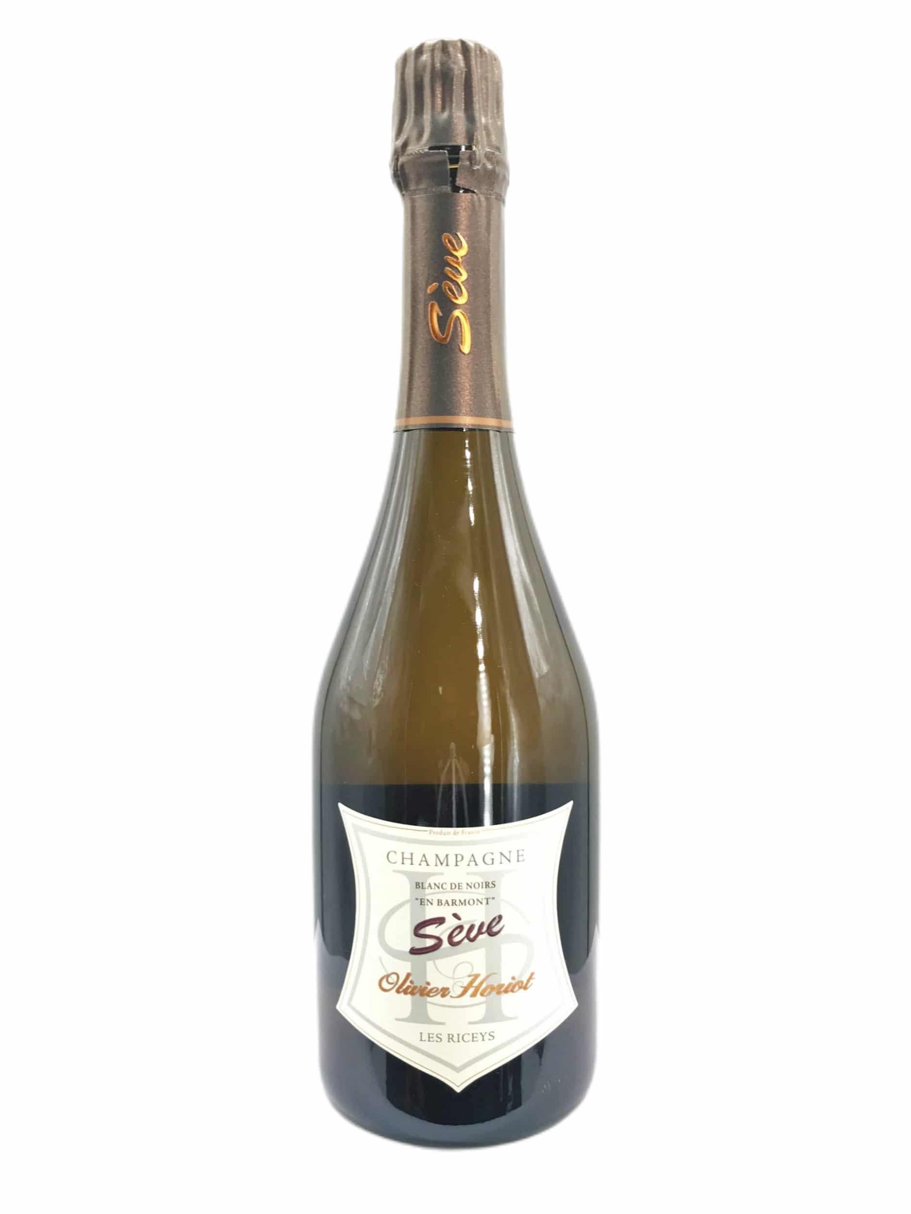 Champagne Olivier Horiot Seve Blanc de Noirs Brut Nature