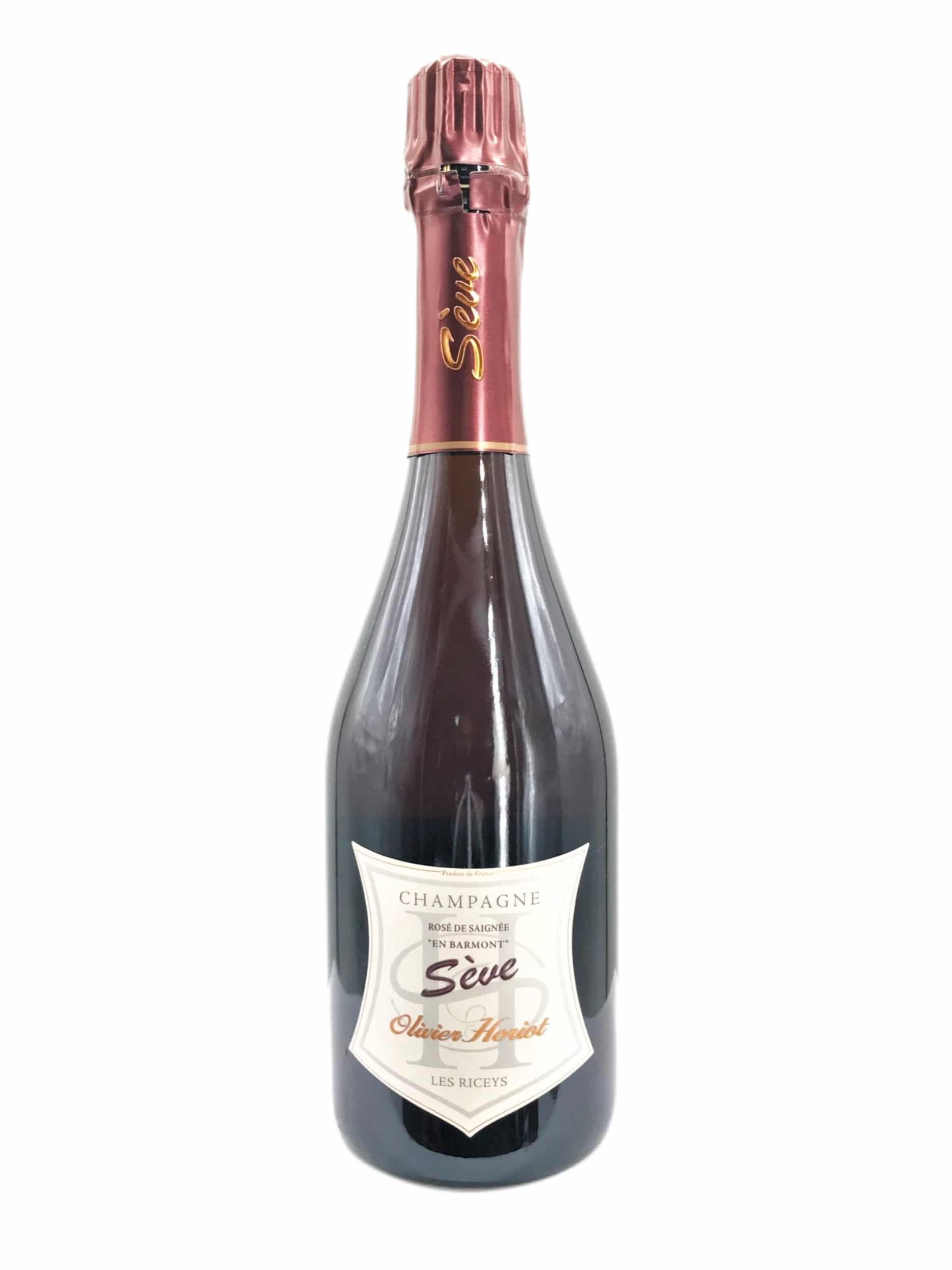 Champagne Olivier Horiot Seve Rose de Saignee Brut Nature