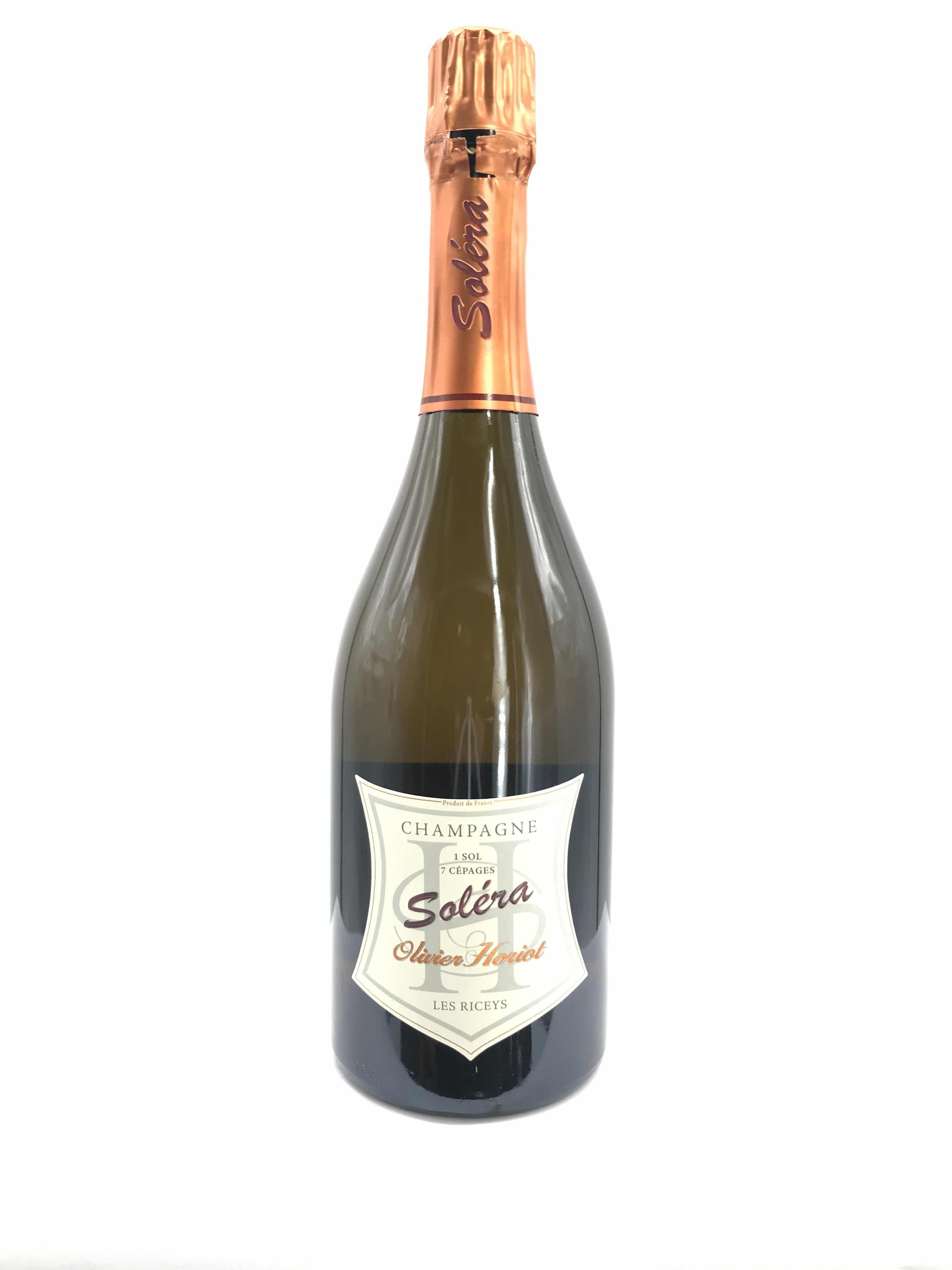 Champagne Olivier Horiot Solera Brut Nature