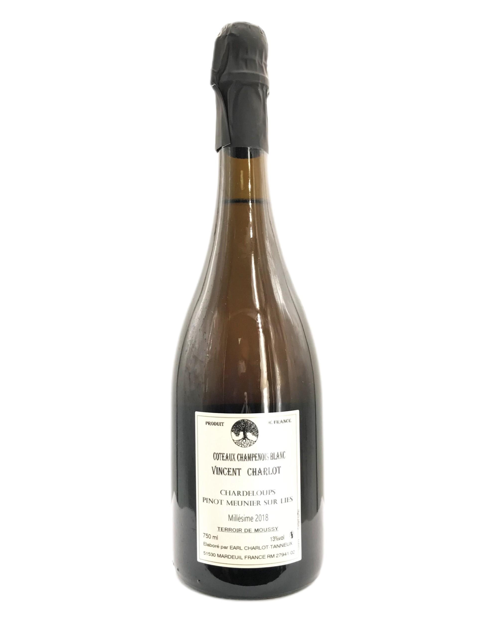 Charlot Tanneux Coteaux Champenois Blanc Chardeloups Pinot Meunier