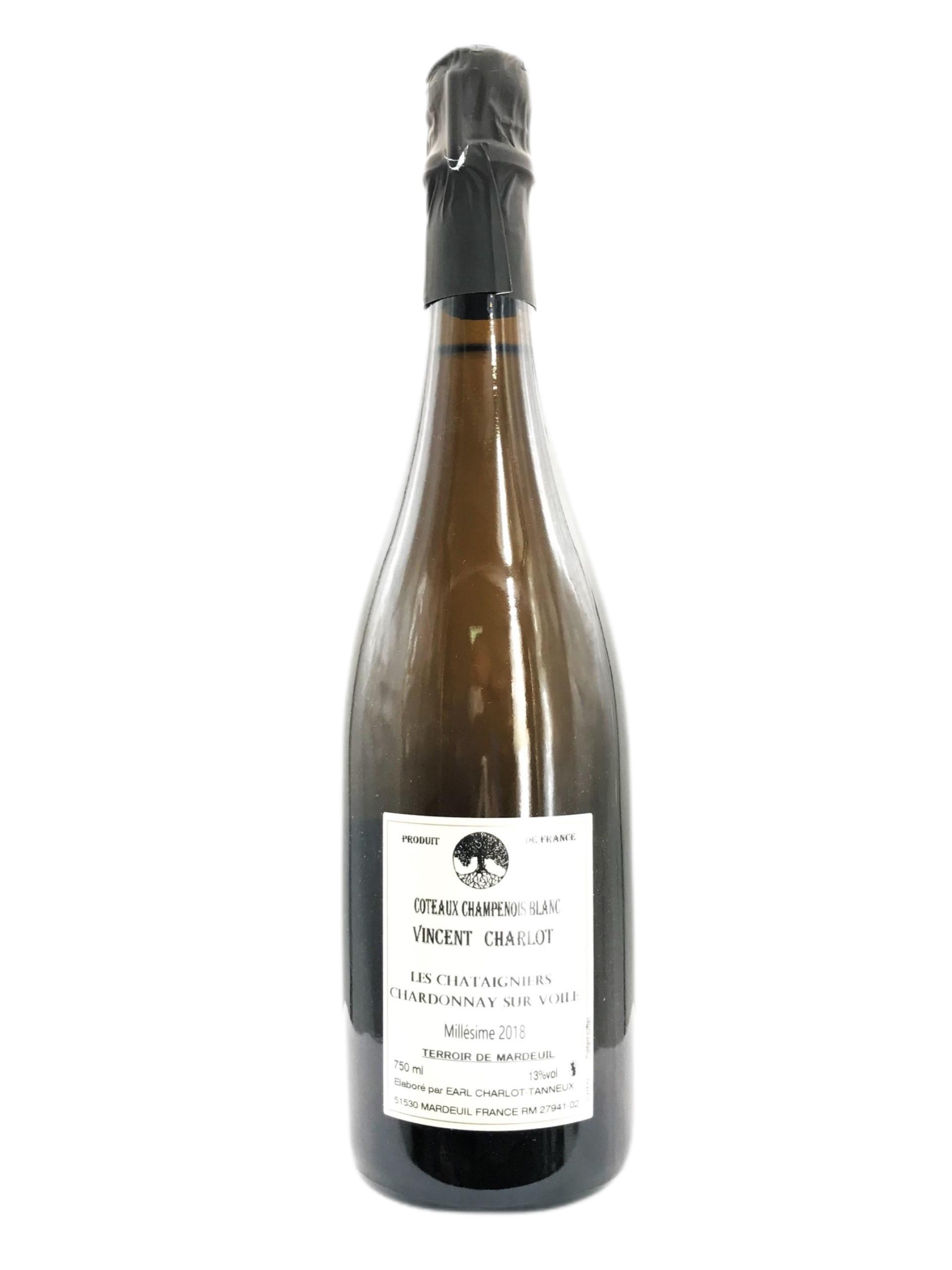 Charlot Tanneux Coteaux Champenois Blanc Les Châtaigniers Chardonnay