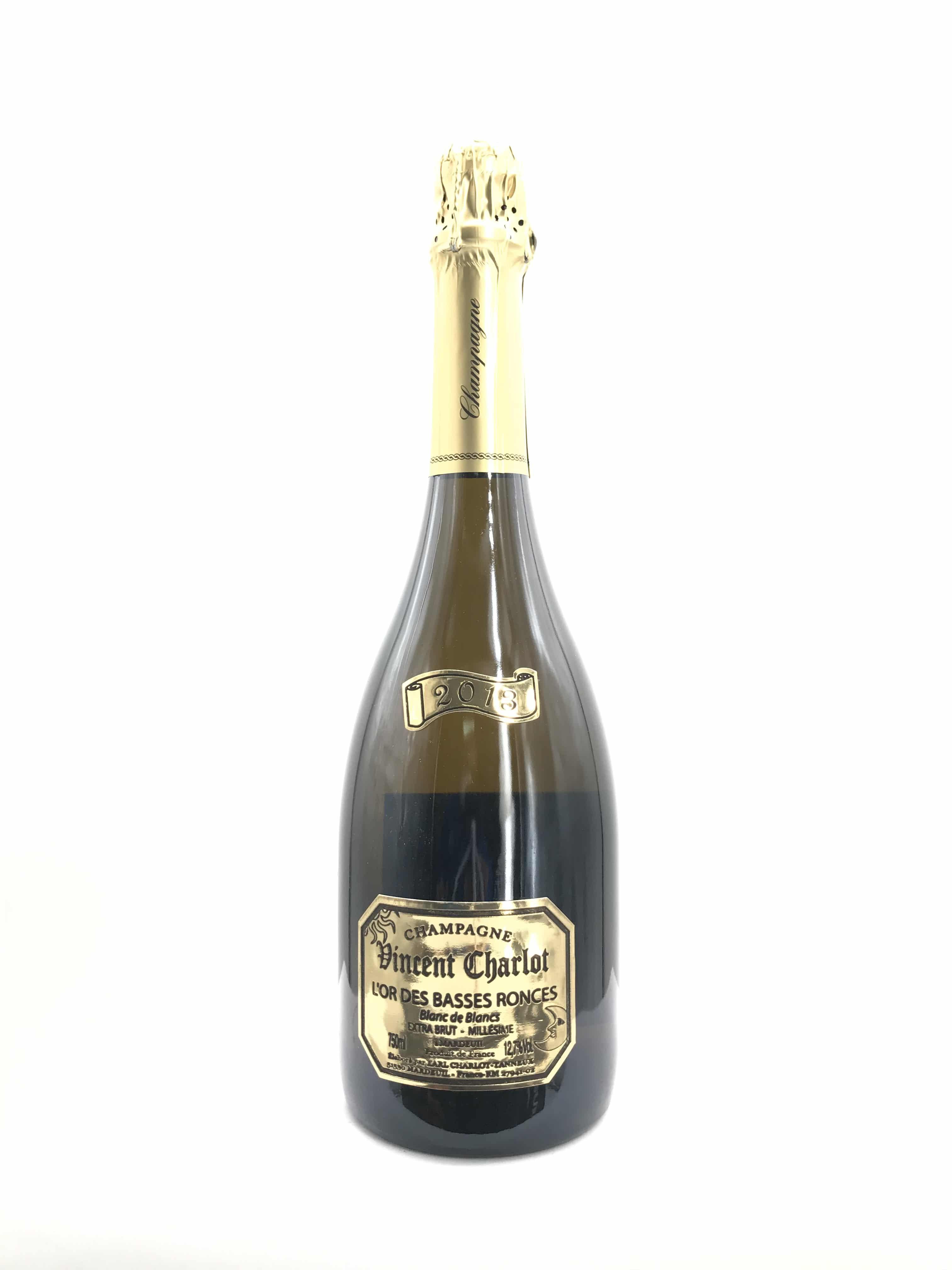 Champagne Charlot Tanneux  L'Or des Basses Ronces Millesime