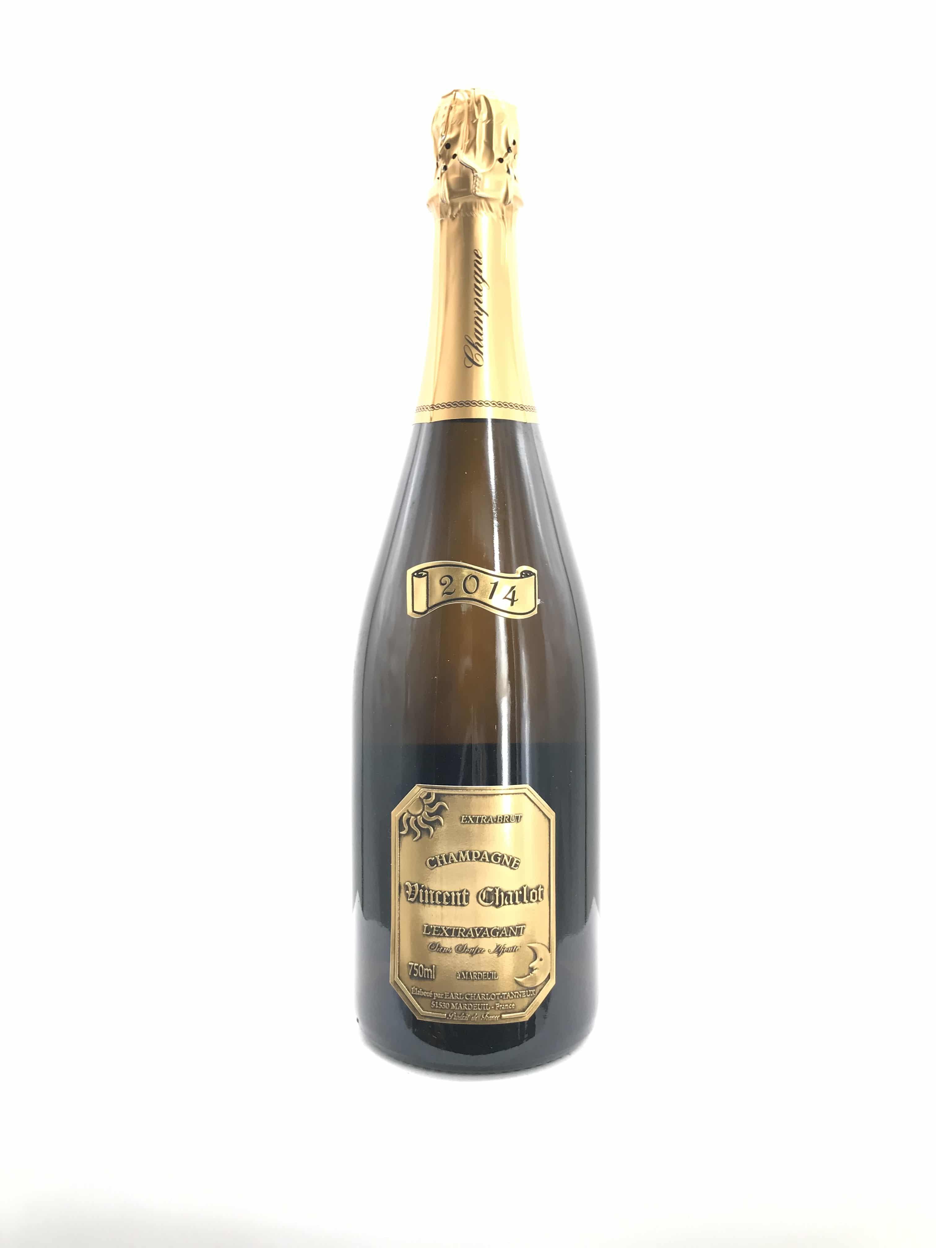 Champagne Charlot Tanneux L'Extravagant sans soufre