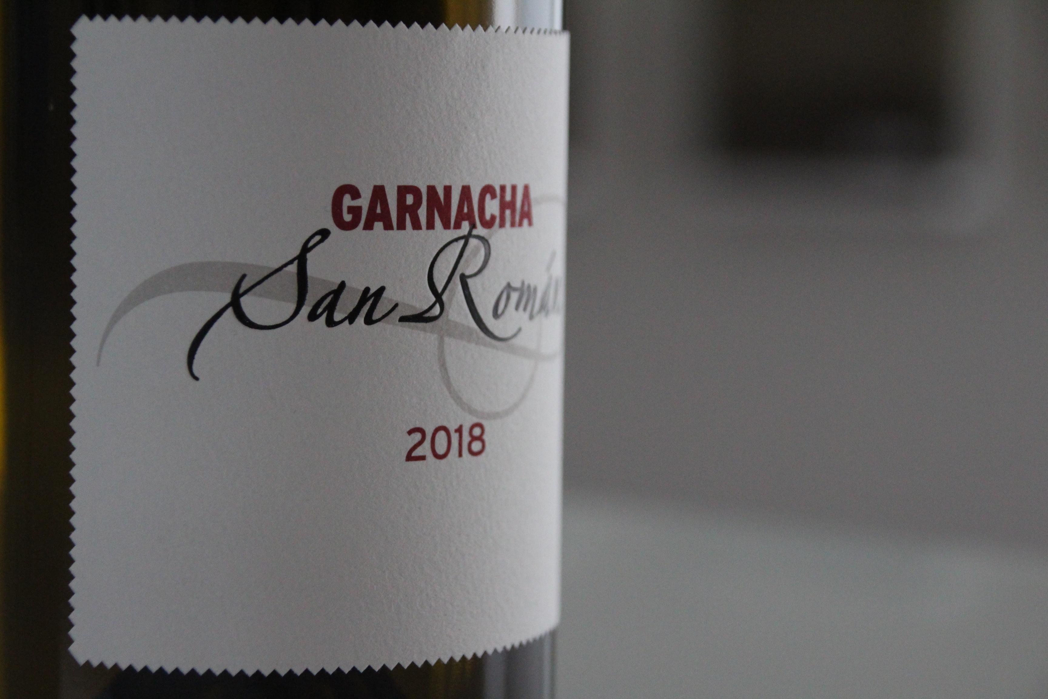 San Román Garnacha 2018